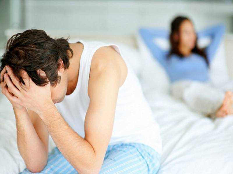 6 Dấu hiệu yếu sinh lý ở nam giới 2