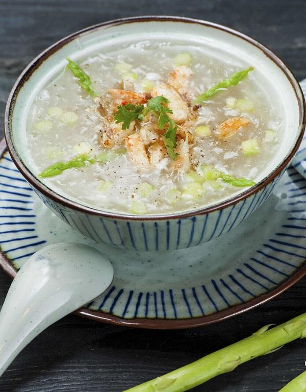 súp cua giúp tinh trùng khỏe