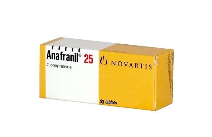 thuốc Anafranil chống xuất tinh sớm