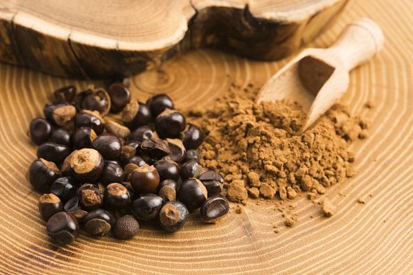 hạt guarana khô