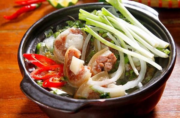 đuôi bò hầm hải mã thơm ngon món ăn tăng cường sinh lý nam